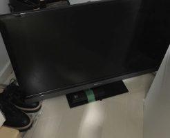 【青森市勝田】テレビの回収☆電話ひとつで処分できる手軽さにご満足いただけたようです!