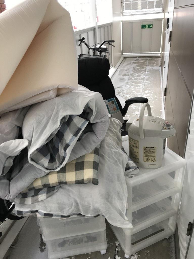 【三戸町】衣装ケース、布団等の回収・処分ご依頼 お客様の声