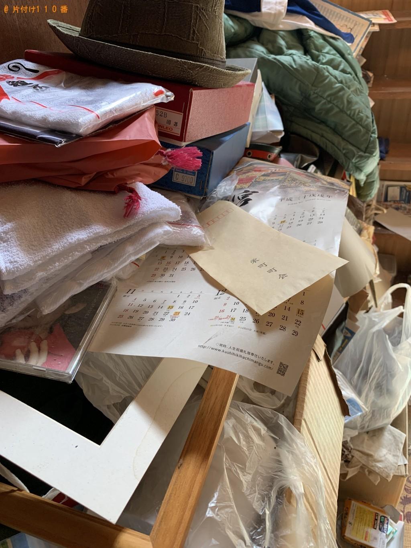 【弘前市栄町】家財一式の回収・処分ご依頼 お客様の声