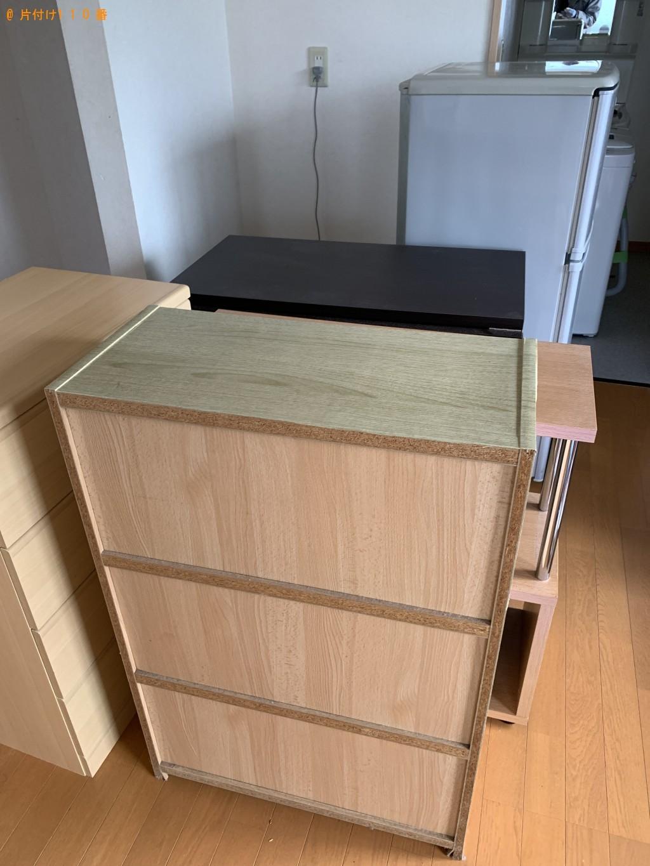 【青森市】引っ越しによる冷蔵庫、洗濯機、テーブル等の運搬ご依頼