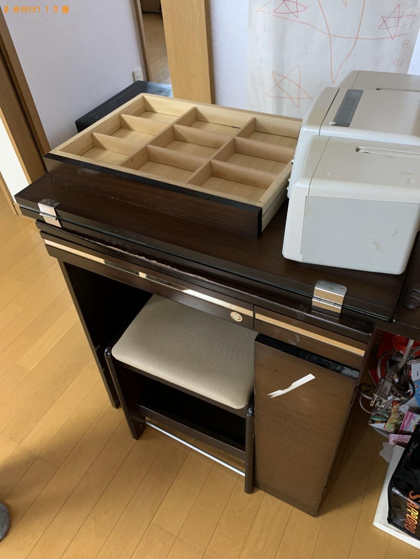 【五所川原市】ガスコンロ、食器棚、ドレッサーの回収・処分ご依頼