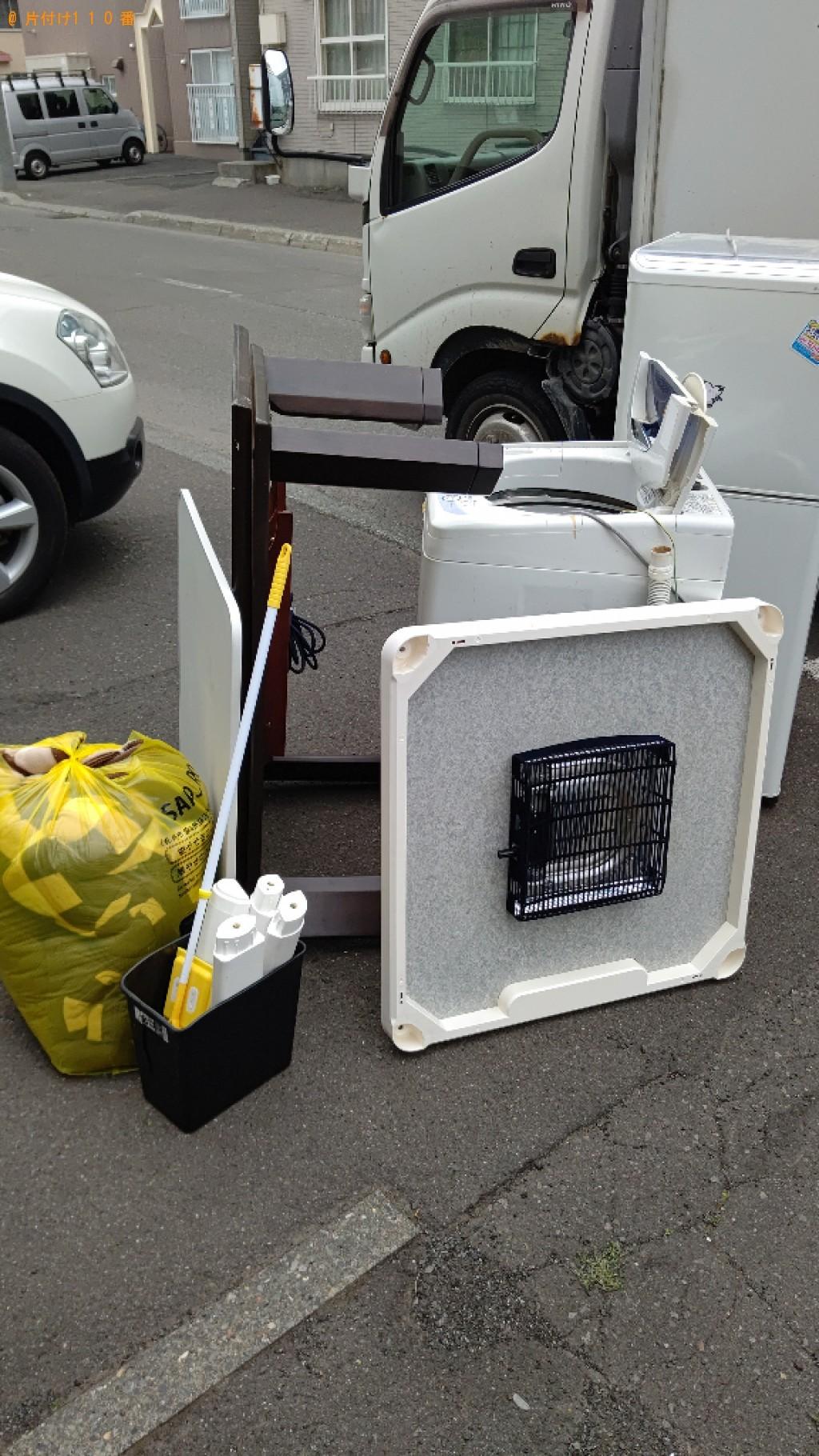 【青森市】冷蔵庫、洗濯機、こたつの回収・処分ご依頼 お客様の声
