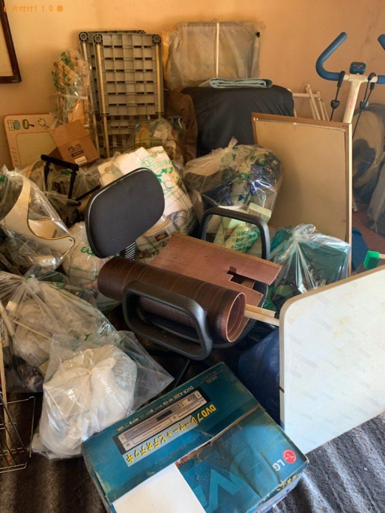 【五所川原市】パソコン、カーペット、ラック、レンジ台等の回収