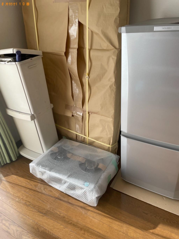 冷蔵庫、洗濯機、本棚、シングルベッドマットレス等の回収