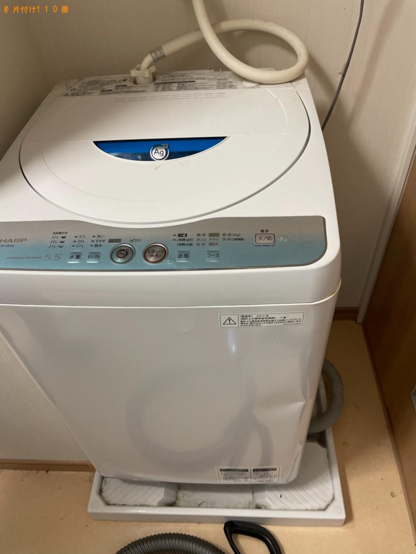 【弘前市紙漉町】冷蔵庫、洗濯機、本棚、タンス等の回収・処分ご依頼