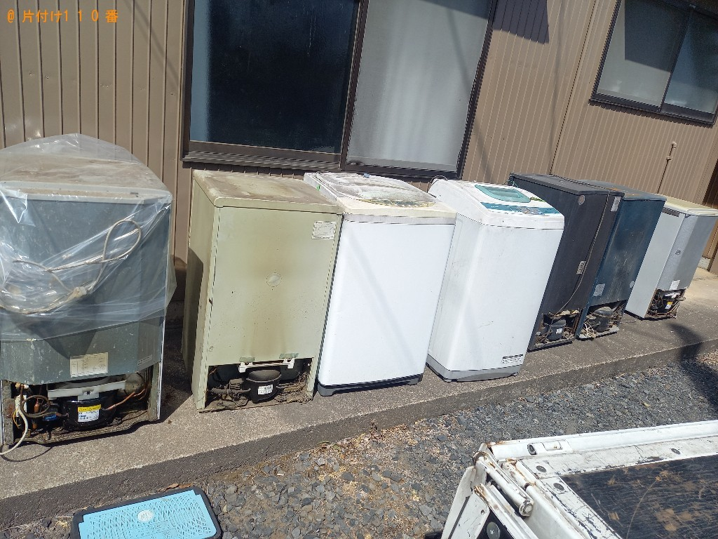 【青森市】洗濯機、金庫の回収・処分ご依頼 お客様の声