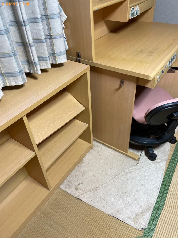 【青森市】本棚、学習机の回収・処分ご依頼 お客様の声